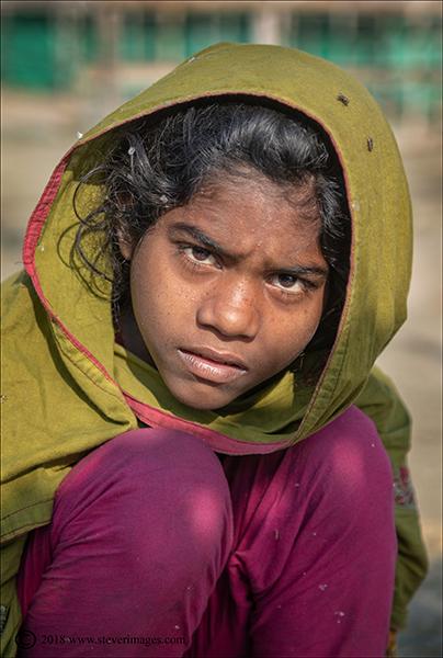 child portrait, Bangladesh, photo