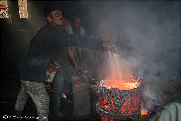 Men at work, Furnace, Bangladesh, photo