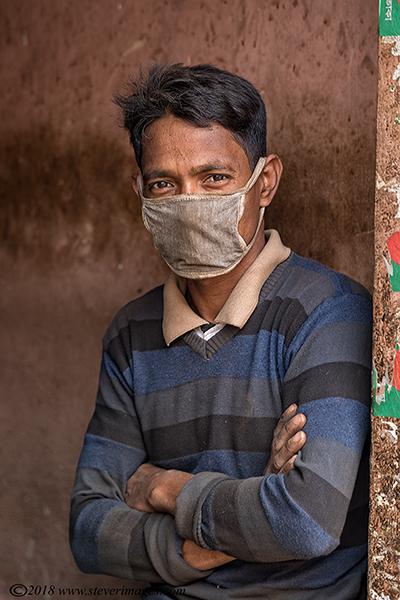 Portrait, mask, Bangladesh, photo