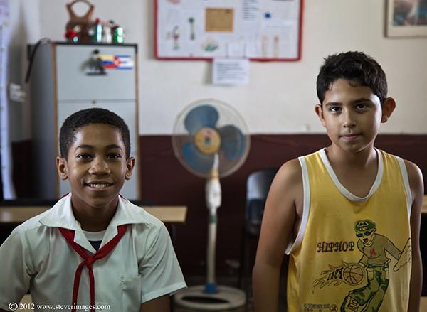 School children, Trinidad, Cuba, photo