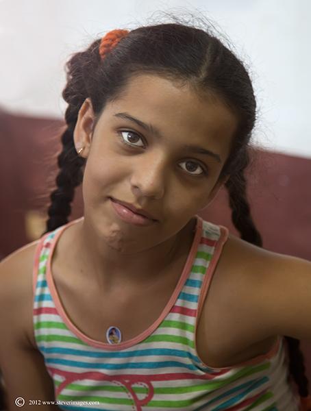 school child, Trinidad, Cuba, Image of school child in Trinidad