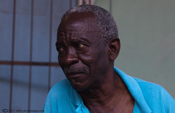 Portrait, Trinidad, Cuba, Portrait of man in street in Trinidad