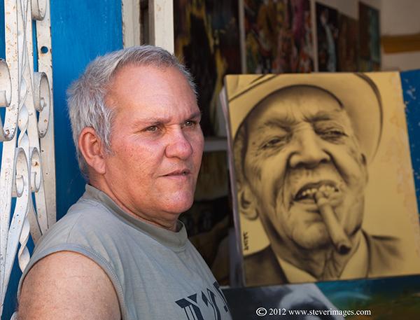 Portrait, Trinidad, Cuba, photo