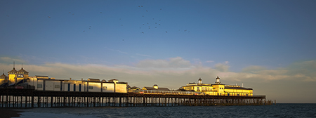 This image of the pier at Hastings was taken around 8pm one evening while we were on holiday and staying at  a small B &...
