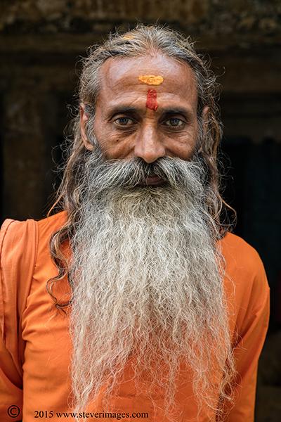 Portrait, Hindu man, photo