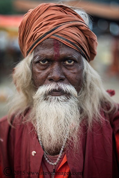 Portrait, Indian man, sonepur Mela, photo