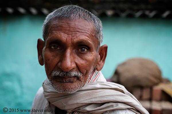 Portrait , Indian man, sonepur Mela, India, photo