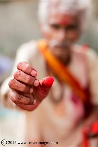 Portrait, Indian man, Sonepur Mela, India, photo