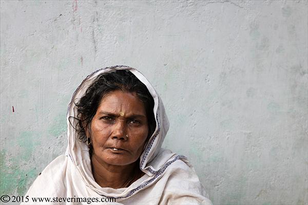 Portrait, Indian woman, Sonepur Mela, photo