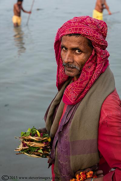 Portrait, Ganges, Sonepur Mela, India, photo