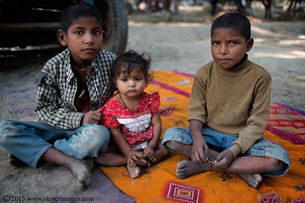 Children, Sonepur Mela, India, photo