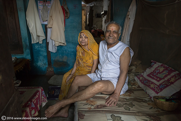 Indian couple at home, photo