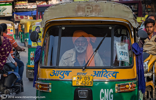Taxi, Indian taxi driver, photo