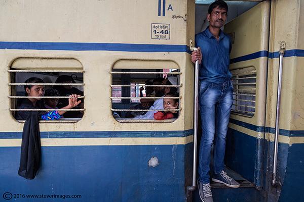 Train station India, photo