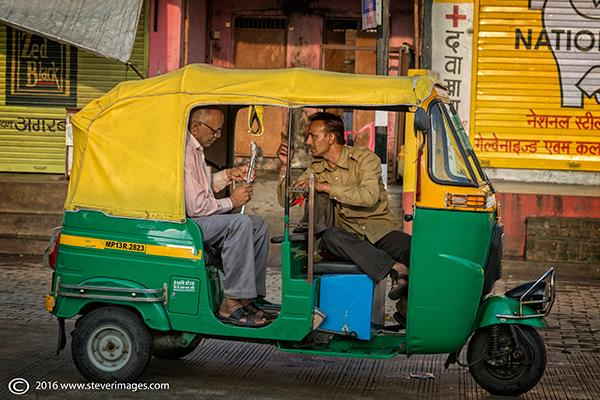 Taxi, India, photo