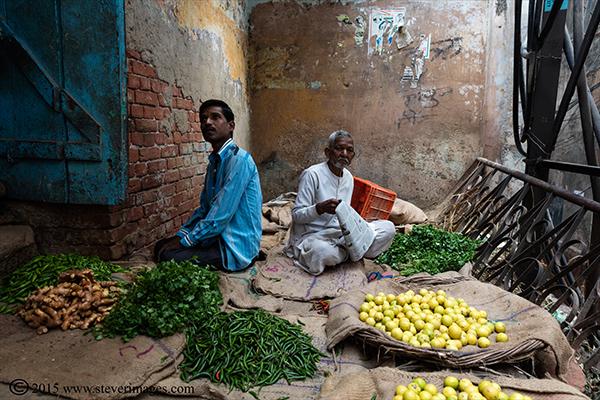 market Varanasi, India, photo