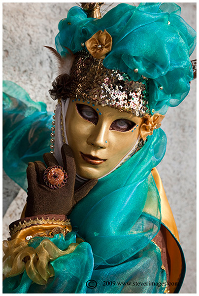 Venice Carnival, Lady in Green, Venice, carnival