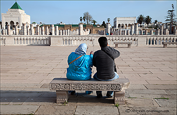 Another candid image taken in the grounds of the Mausoleum of Mohammed V, Rabat.