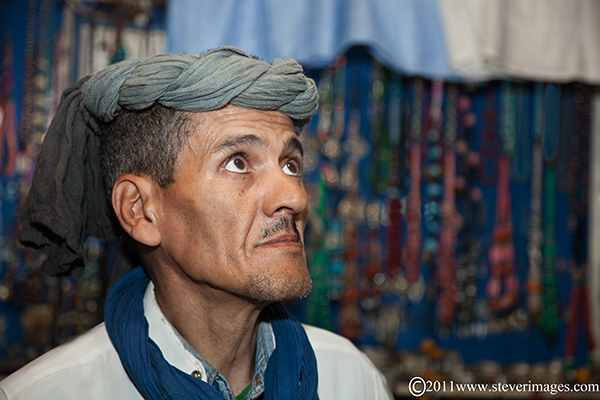 I photographed this character in one of the many little shops in the undercover market selling jewellery.