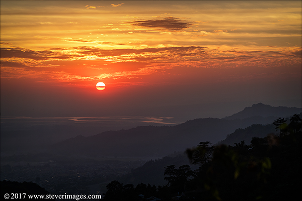 Sunset Nepal, photo