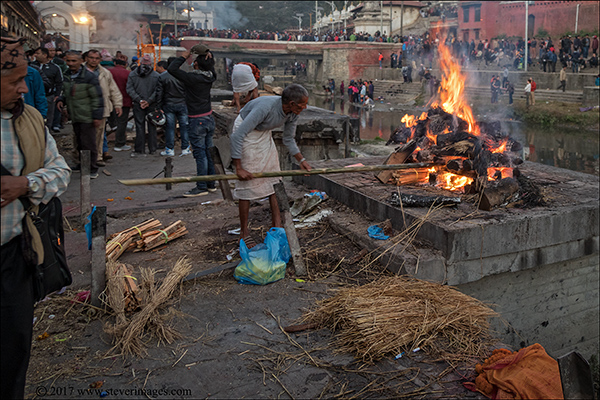 Photo of burning Ghat in Nepal, photo