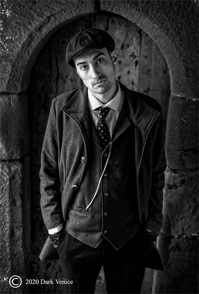 Male portrait, Black and white Portrait, Peaky Blinders, photo