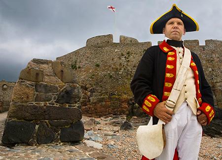 Jersey, Standing Guard, Elizabeth Castle, photo