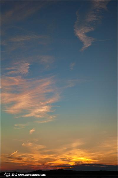 Sunset, Holy Islane, Lindisfarne, Image of sunset on Holy island