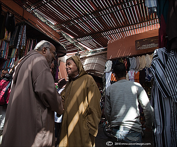 Another candid image from the market in Fes.