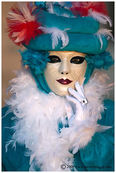 Venic Carnival, the look, Venice, photo
