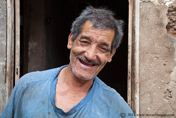 This gentleman worked in one of the local tanneries and seemed quite pleased to have his picture taken, whilst being ribbed by...