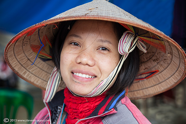 One of a number of images taken at the market at Bac Ha.
