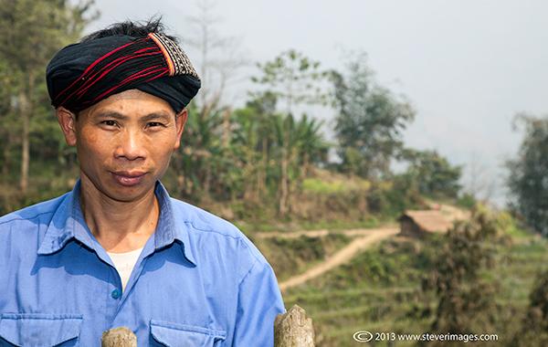 Local man, North Vietnam countryside, photo