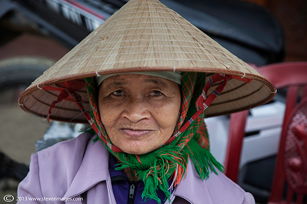 Bac Ha market, Vietnamise Hat, Portrait, North Vietnam, photo