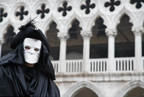 Venice carnival, highwayman, Venice, photo